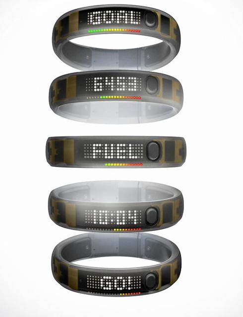 耐克推出第二代Nike+ FuelBand智能腕带
