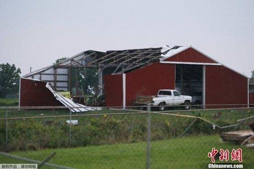 美国中部城市遭龙卷风袭击 51人遇难120多人伤