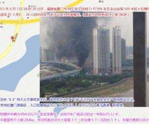 """""""6.7""""厦门BRT公车起火"""
