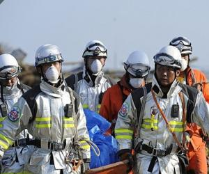 PETZL头灯在日本地震救援中发挥作用