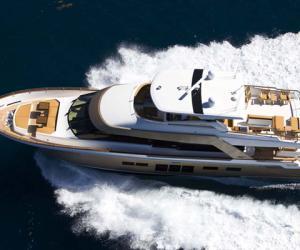 Lazzara纯休闲游艇:传统与现代风格融合