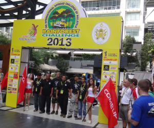 台湾川方(COMEUP)在2013马来西亚国际雨林挑战赛