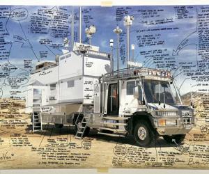 绝对技术流 发明家老爸造全地形露营车
