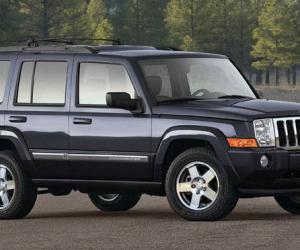 吉普指挥官(Jeep Commander)内置前绞盘安装