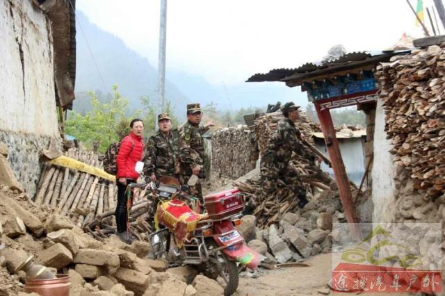 驻藏部队紧急救援边境受灾小镇 已动员1700余人