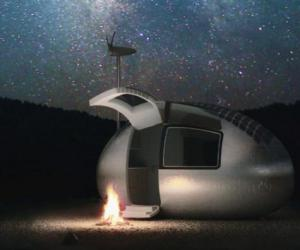 Ecocapsule便携式房屋 为高端户外人群准备