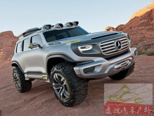 未来G级雏形 奔驰推Ener-G-Force概念车