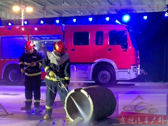中国首台冷态切割抢险救援消防车投入使用