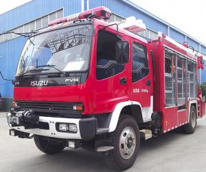 CHAMPION N12000电动绞盘成为国内消防救援车标准配置