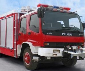 抢险救援消防车结构及配置功能