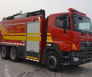 现代灭火消防车的种类