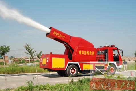 图10III型涡喷消防车