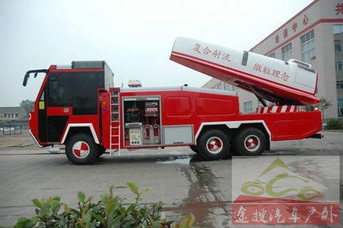 图13江苏卡威专用汽车制造有限公司研制的新型涡喷消防