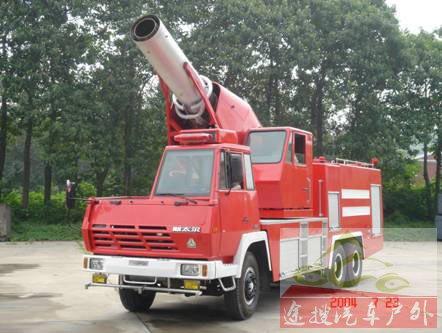 图8I型涡喷消防车