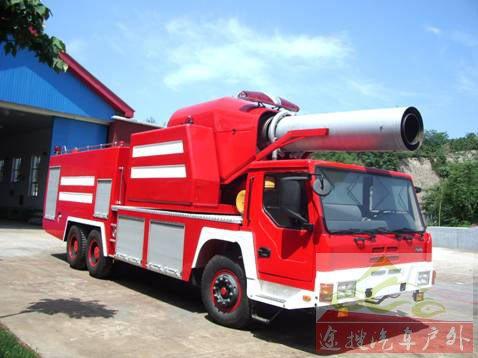 图9Ⅱ型涡喷消防车