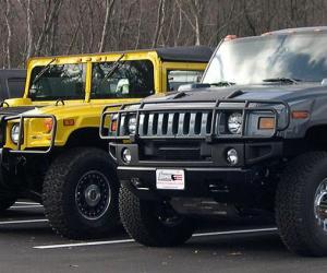 汽车百科:民用悍马(Hummer)