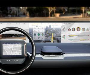 拜腾首款D级豪华智能电动SUV配置1.25米大屏幕