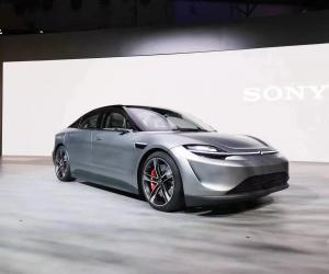 索尼推出 Vision-S 原型电动概念车